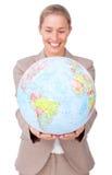 Extensión de asunto global Imagen de archivo libre de regalías
