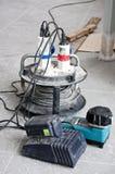 Extensión de cable eléctrico fotografía de archivo libre de regalías