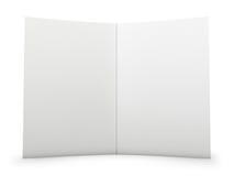 Extensión en blanco de la carpeta ilustración del vector