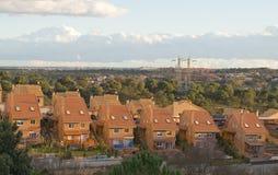 Extensión suburbana Imagenes de archivo