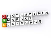 Extensible Markup Language Photographie stock libre de droits