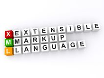 Extensible Markup Language Royalty Free Stock Photography