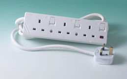 Extension cord Stock Images