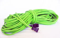 Extension Cord. Photo of wrapped up extension cord Stock Images