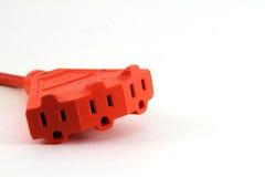 Extension Cord Plug Stock Image