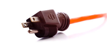 Extension Cord Plug Royalty Free Stock Image