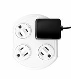 Extension cord with plug Stock Images