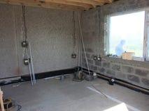 Extension de bâtiment Photo stock
