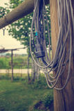 Extension power cord Royalty Free Stock Image