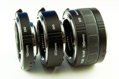 Extension rings Stock Photography