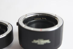 Extension tube Stock Image