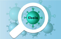 Extension virus ebola Stock Photo