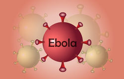 Extension virus ebola Royalty Free Stock Images