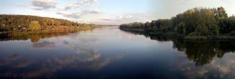 Extensiones del río Fotos de archivo