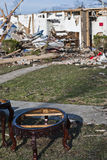 Extensive Destruction After Tornado Stock Photography