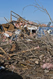 Extensive Destruction After Tornado Stock Images