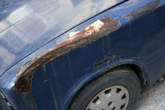 Extensive rust damage Stock Photography