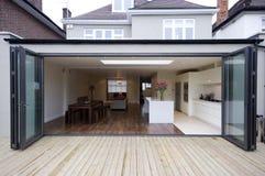 Extensão da cozinha da casa Imagem de Stock Royalty Free