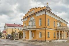 Exterio della costruzione del teatro del servo di Nikolay Durasov Fotografia Stock Libera da Diritti