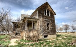 Exterior Abandoned House Stock Image