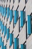 Exterior abstracto del edificio Imagen de archivo libre de regalías