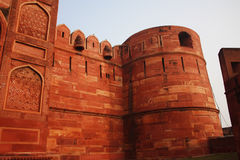 Exterior of Agra fort India Royalty Free Stock Photo