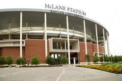 Exterior agradable del estadio de McLane imagen de archivo libre de regalías