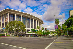 The Exterior of the Ahmanson. As seen from 1st and Grand Stock Photos