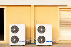 Exterior Air Conditioner Fan Royalty Free Stock Images