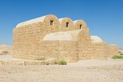 Exterior of the Amra desert castle (Qasr Amra) near Amman, Jordan. Royalty Free Stock Photography