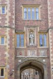 Exterior of ancient college building Stock Photography