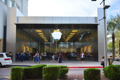 The Exterior of the Apple Store at the Scottsdale Quarter in Scottsdale, Arizona USA Stock Photo