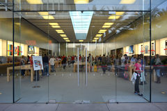 The Exterior of the Apple Store at the Scottsdale Quarter in Scottsdale, Arizona USA Stock Image