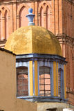 Exterior architectural details in mexico Royalty Free Stock Image
