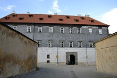 Exterior architecture of Brandys nad Labem castle Stock Photo