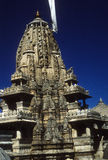 Exterior architecture of  Jain temple Stock Image