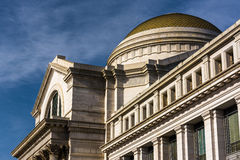 Exterior architecture at the Smithsonian National Museum of Natu Royalty Free Stock Photography