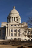 Exterior of the Arkansas State Capitol building in Little Rock Stock Image