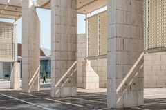 Exterior of Bahrain National Museum Royalty Free Stock Images