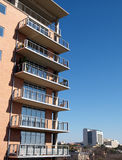 Exterior balconies Stock Images