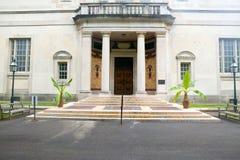Exterior of Barnes Museum Philadelphia, Pennsylvania Stock Image