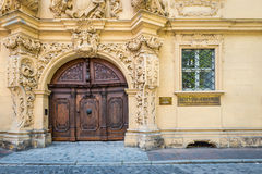 Exterior of the baroque palace Stock Photography