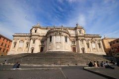 Exterior of Basilica Papale di Santa Maria Maggiore Royalty Free Stock Image