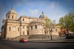 Exterior of Basilica Papale di Santa Maria Maggiore Stock Photo