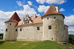 Exterior of the Bauska castle in Bauska, Latvia. Stock Images
