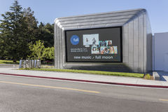 Exterior of Berkeley Art Museum and Pacific Film Archive. BERKELEY, CA - JUNE 18, 2016: Located in downtown Berkeley, BAMPFA art exhibits range from Asian Royalty Free Stock Image