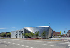 Exterior of Berkeley Art Museum and Pacific Film Archive. BERKELEY, CA - JUNE 18, 2016: Located in downtown Berkeley, BAMPFA art exhibits range from Asian Stock Photo