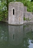 Exterior from Bishops Palace Royalty Free Stock Photos