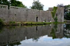 Exterior from Bishops Palace Stock Photo
