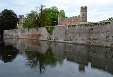 Exterior from Bishops Palace Stock Image